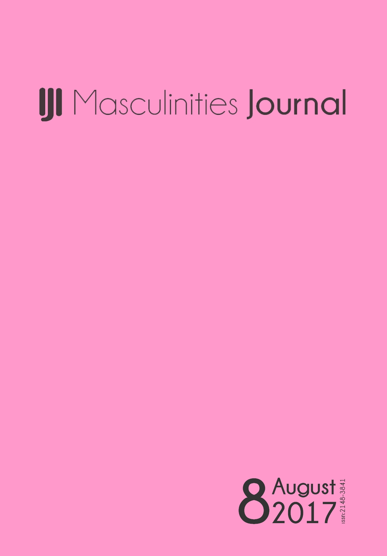 8th Issue of Masculinities: A Journal of Identity and Culture is online now